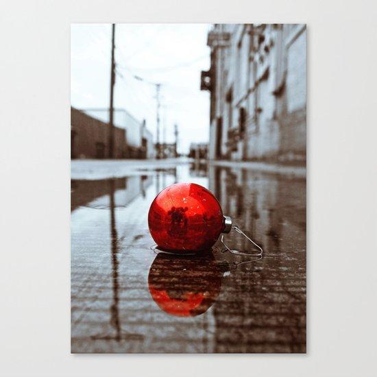 South Tacoma Christmas Canvas Print