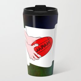 Japan Rugby Flag Travel Mug