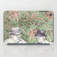 men iPad Cases featuring Old Men by Jason Ratliff