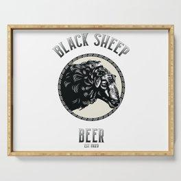 Black Sheep Beer Serving Tray