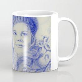 Girl in blue Coffee Mug