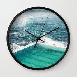 Bondi Icebergs Club Wall Clock