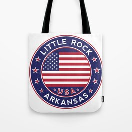 Little Rock, Arkansas Tote Bag