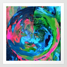 Earthly Art Print