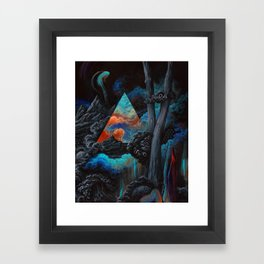 No one could have known the journey you would face Framed Art Print