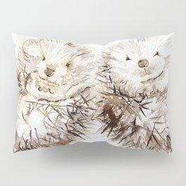 Hedgehog Cuddles Pillow Sham