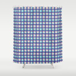 Upbeat SK8ter Chess Pattern V.09 Shower Curtain