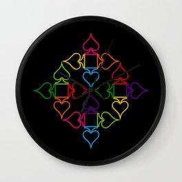 As (Black) Wall Clock