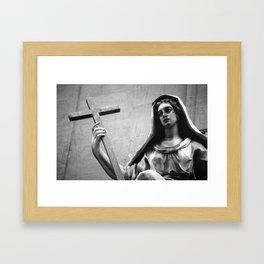 Lady Madonna Framed Art Print