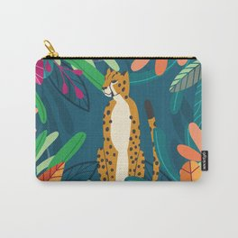 Cheetah chilling in the wild Carry-All Pouch
