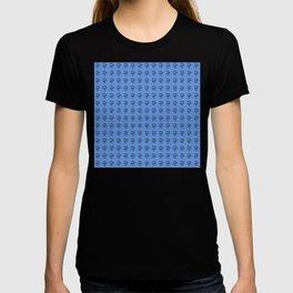 Jeff Goldblum Pattern Blue T-shirt