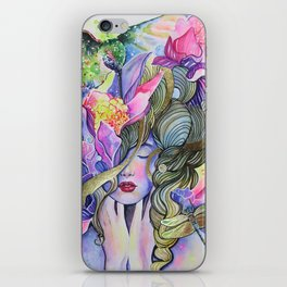 Garden Nymph iPhone Skin