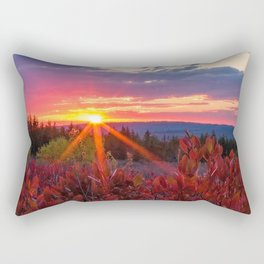 Dolly Sods Sunset, Tucker County, WV Rectangular Pillow