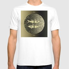 Planetary Mood 5b / Vertical Divergence 10-02-17 Mens Fitted Tee White MEDIUM
