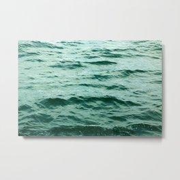 Aqua Ocean Metal Print