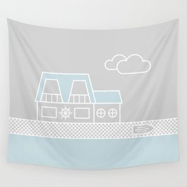 Lagoon House Wall Tapestry