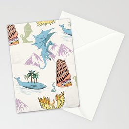 Travels Marvels Stationery Cards