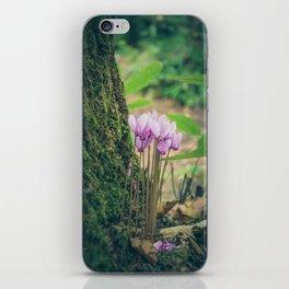 Cyclamen iPhone Skin