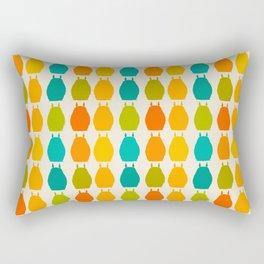 my neighbor pattern Rectangular Pillow
