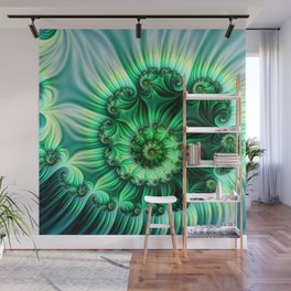 SPIRAL CONTENTMENT Wall Mural
