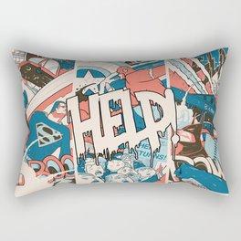 Save us. Rectangular Pillow