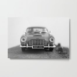 James Bond - Aston Martin Metal Print
