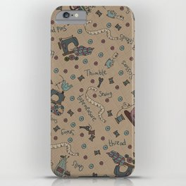 My Sewing Things... iPhone Case
