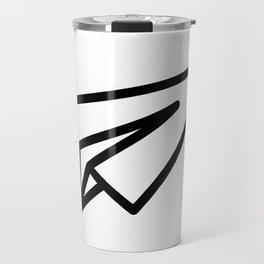 Paper Aeroplane Travel Mug
