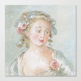 Claudette Canvas Print