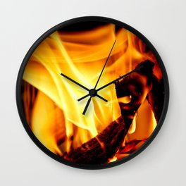 Willing to Burn Wall Clock