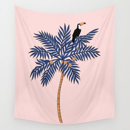 Pink mood Wall Tapestry