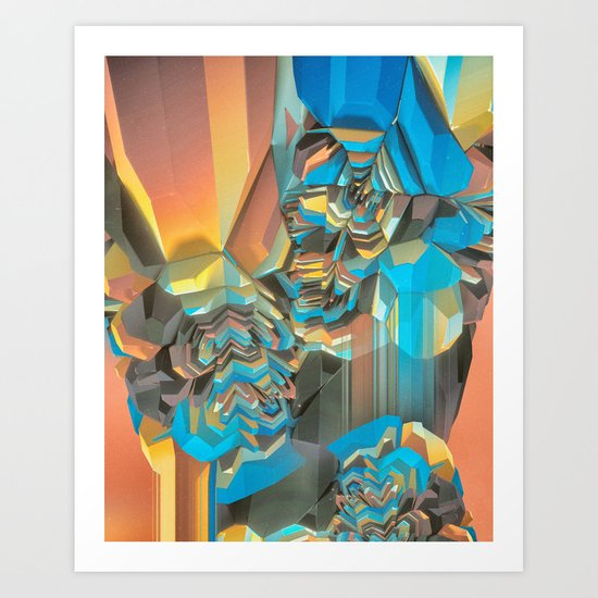 FADDDED (everyday 10.17.16) Art Print