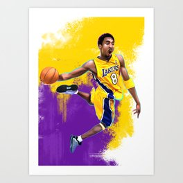the Black Mamba Art Print