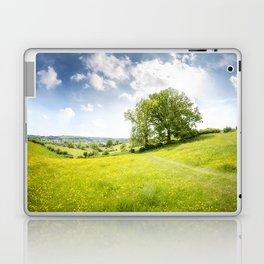 Idyllic Cotswold Summer Landscape Laptop & iPad Skin