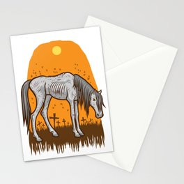 The Hangman's Horse Stationery Cards