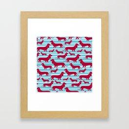 HotDogs Framed Art Print