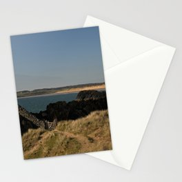 Towards Malltraeth Beach Stationery Cards