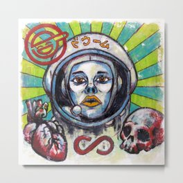Return of the Astro-Goth Metal Print