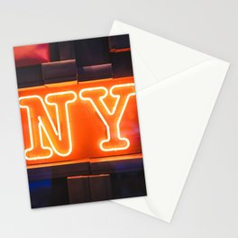 Neon NY Stationery Cards