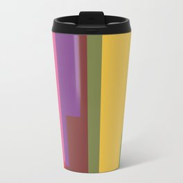 Shapes of Denver accurate to scale Metal Travel Mug