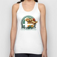 smash bros Tank Tops featuring Bowser - Super Smash Bros. by Donkey Inferno