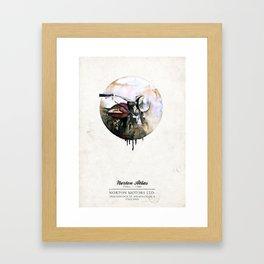 Norton Atlas Framed Art Print