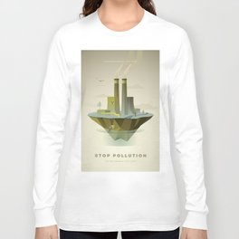 Stop Pollution Long Sleeve T-shirt