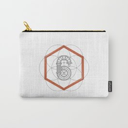 Roman Numerals Carry-All Pouch