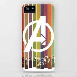 VINTAGE OF ULTRON iPhone Case