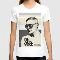 ben giles T-shirts featuring Reserved Magazine Giles Deacon by Mitja Bokun