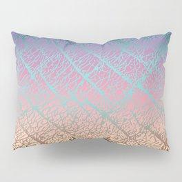 Pink Beige Elephant Skin Pillow Sham