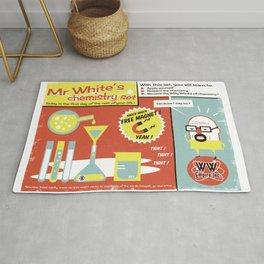 Walter White's Chemistry set Rug