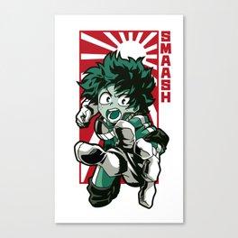 Boku no hero japan Canvas Print