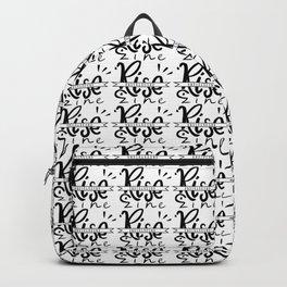 RISE Underground Zine - Logo Backpack